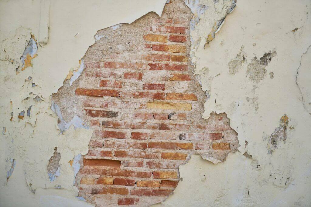 stara ściana
