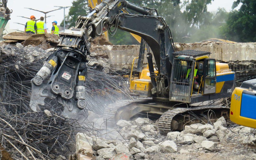 Recykling gruzu budowlanego- naczym polega?